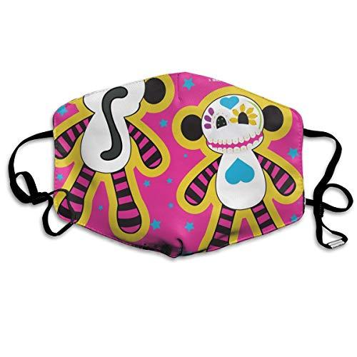 Beste Scary Clown Masken - Sugar Skull Cut U0026 Nähen Kissen