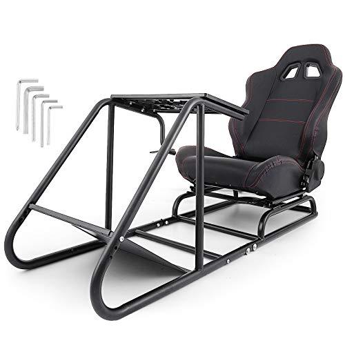 OldFe Il Supporto Giochi Per PS3/4 XBOX Steering Wheel Stand Per Logitech G27 G25 E G29 Volante Con Supporto E Le Sedia