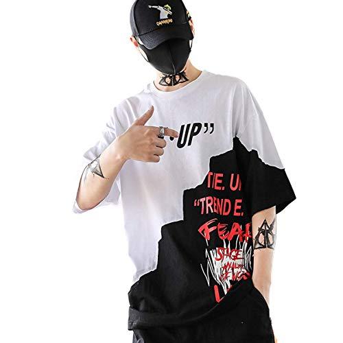 rt Crew Neck Smiley T-Shirt (Weiß, M) ()