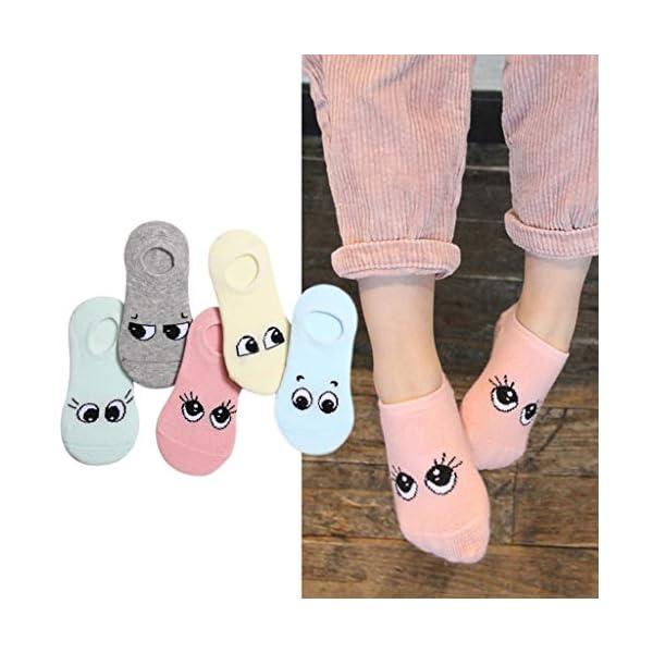 ZOOMY Primavera y Verano Calcetines Cortos de Dibujos Animados para niños Smiley Pattern Kids Baby Sock 5