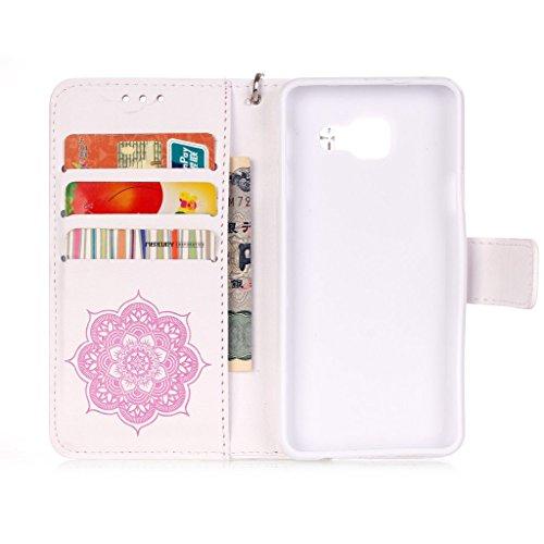 MOONBAY MALL Premium Housse en PU Cuir Portefeuille Etui Housse Flip Case pour Apple iPhone 5SE / iPhone SE / iPhone 5e avec fonction de support - Stylet & film de protection d'écran. YF #06 YF #03