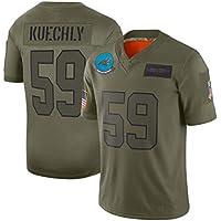 ZJFSL Camiseta de la NFL Panthers/Ravens/Cardinals/Redskins/Army Green Embroidered Edition NFL Jersey de fútbol Ropa Deportiva de Manga Corta,B-59,XXL