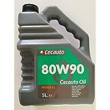 Cecauto 07013 – Aceite 80W90 Valvulina, Gear Oil, 5 litros.