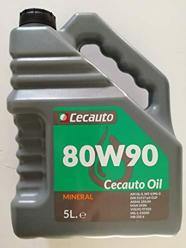 Cecauto 1006007013 Cecauto-07013 80W90 Valvulina 5L