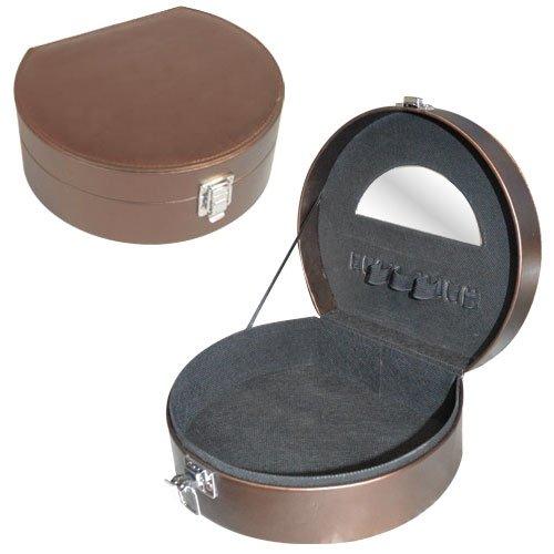 Vanity maquillage rond bronze