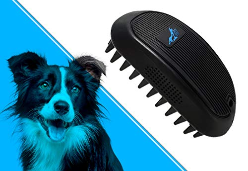 anires speiki - Fellpflegebürste/Hundebürste/Tierhaarbürste reduziert Loses Haar und Gerüche....
