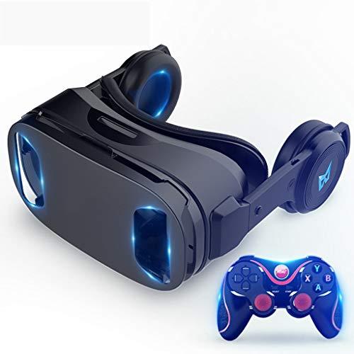 3D-Brille Für Virtuelle Realität Mit 120 ° -FOV, Anti-Blue-Light-Linsen, Stereo-Headset, Für Alle Smartphones Mit Einer Länge Unter 6,3 Zoll
