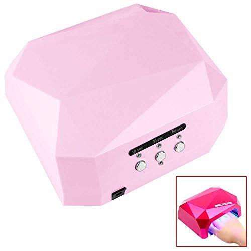 Ociodual 36W UV Lichthärtungsgerät Ultra Violett Pink