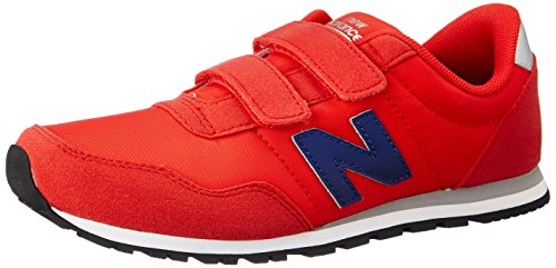 New Balance Boy's 396 Red and Navy Sports Shoes - 3 kids UK/India (35.5 EU) (3.5 US)
