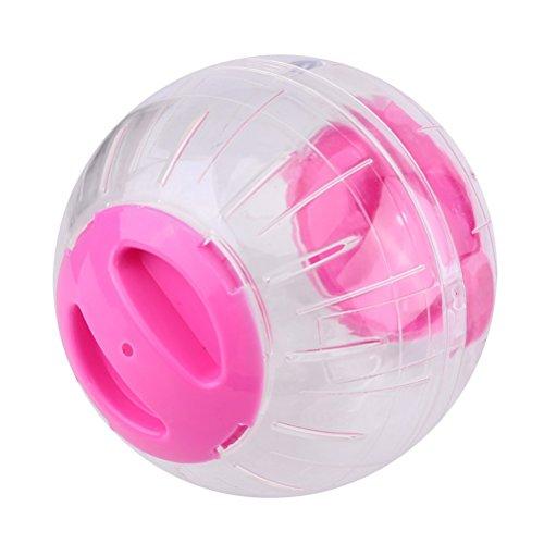 UEETEK Transparente juguetes plástico trote bola