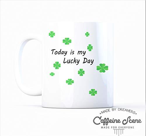 Claude6yhAly Gl¨¹ck der irischen Feier St. Pattys Tageslustige irische Getr?nk-Tasse -
