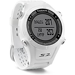 Garmin Approach S2 Orologio GPS Golf, Bianco