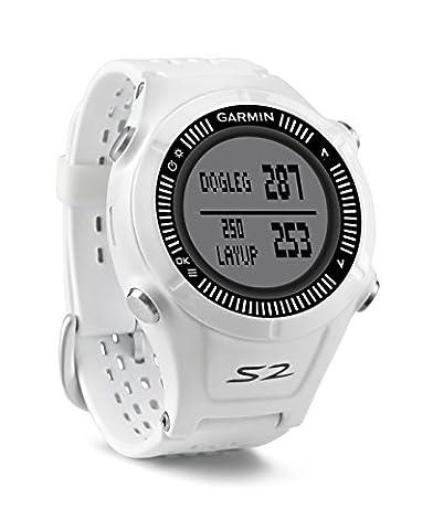 Garmin Approach S2 GPS Golfuhr (30.000 vorinstallierte Golfplätze, Anzeige von Entfernungsangaben)