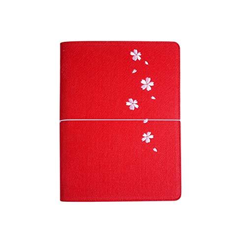 NTCY Notizbuch B5 Großes Notizbuchbriefpapier-Notizblockhandbuch Klassisches Verdickungsaufzeichnungs-Kreatives Gitterraster Dieses Handbuch,G