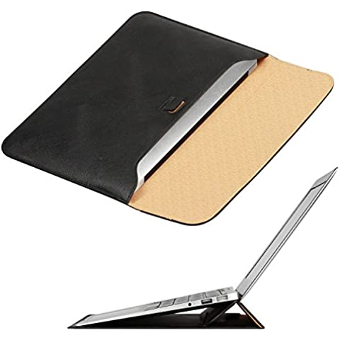 OMOTON Macbook Air 11 Pulgadas Funda con Soporte ,Color de Negro ,Ultrafino bolsa Para Macbook Air 11 Pulgadas