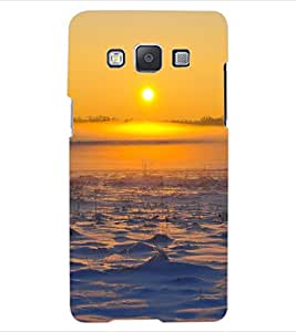 ColourCraft Lovely Sunset Design Back Case Cover for SAMSUNG GALAXY A5 A500F