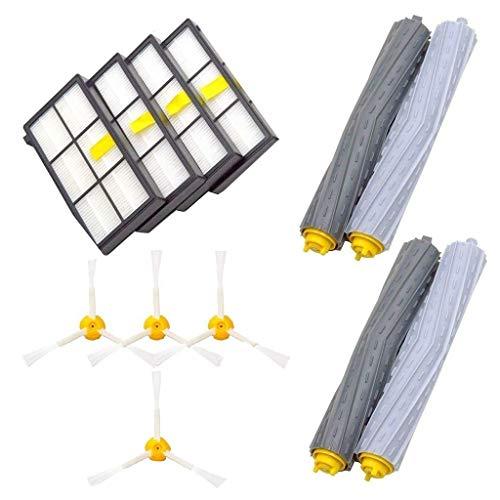 Gaddrt Ersatzteile für iRobot Roomba 860 880 805 860 980 960 Staubsauger mit 4st Bürstenfilter