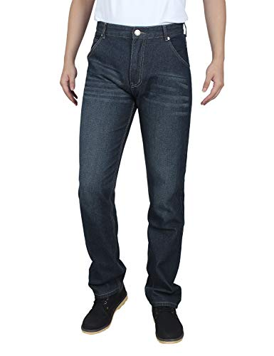 Demon&Hunter 806 Series Hombre Regular Corte recto Pantalones Vaqueros DH8021(36)