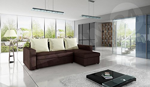 ecksofa top sofa eckcouch couch mit schlaffunktion und. Black Bedroom Furniture Sets. Home Design Ideas