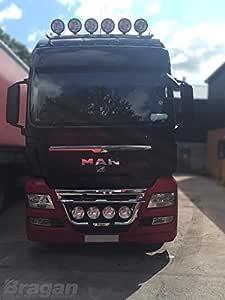 Man Tgx Edelstahl Grill Licht Bar Eine Truck Mit Schritt Pads Auto