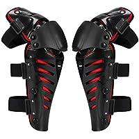 Par de rodilleras de 1 par de motocicletas Proteger Motocross Andar en motociclista de carreras de engranajes de protección Proteger al aire libre de seguridad del deporte Almohadillas de seguridad