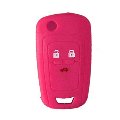 rotsaler-1x-rosa-schlusselhulle-autoschlussel-chevrolet-silikon-schutzhulle-tasche-gehause-3-tasten-