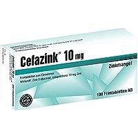 Cefazink 10 mg Tabletten, 100 St. preisvergleich bei billige-tabletten.eu