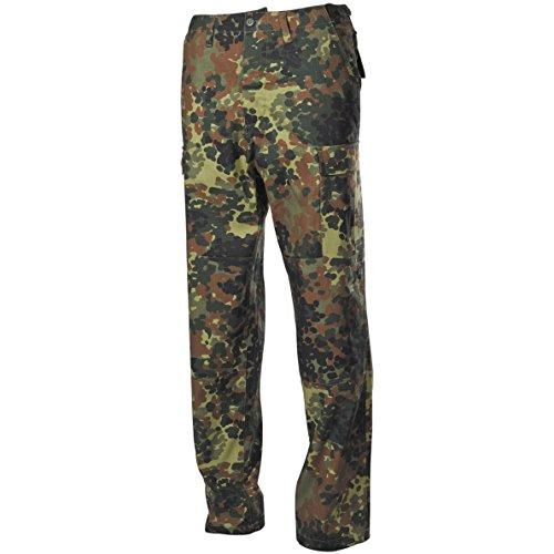 MFH BDU Combat Trousers Ripstop Flecktarn