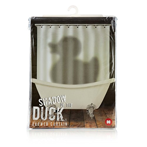 Mustard NG5309 Shadow Of The Duck Tenda per Doccia con Stampa Ombra Paperetta