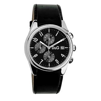 Dolce & Gabbana 3719770097 – Reloj de Caballero de Cuarzo, Correa Color Negro