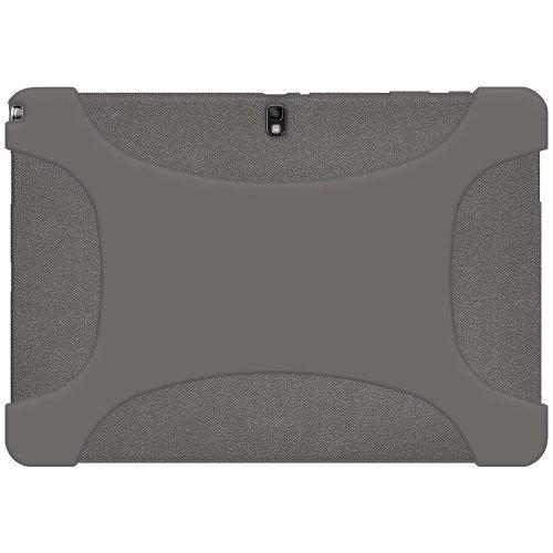 Amzer Exklusive Silikonhülle für Samsung Galaxy Note Pro/Tab Pro 31cm (12,2Zoll), Grau