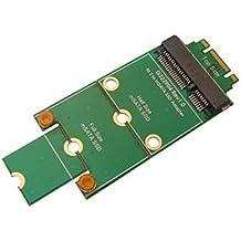 KALEA-INFORMATIQUE ©–Adaptador mSATA miniPCIe a M.2(NGFF)–Para montar un SSD mSATA en un puerto M.2.