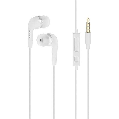 EHS64AVFWE - Cuffie stereo Samsung in ear, con microfono da 3,5 mm, per Galaxy S7, S6 Edge Plus, S5 Mini, S4 I9500, S4 Mini I9190