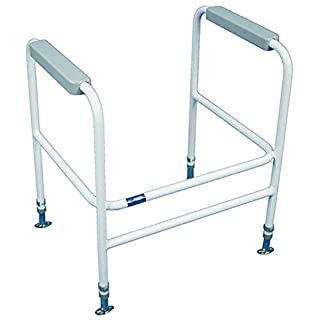 Aidapt Ashford Height Adjustable Toilet Frame (Eligible for VAT relief in the UK)