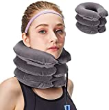 XClub™ Neck Traction Device Effective and Fast Relief Neck Pain Inflatable Neck Stretcher Collar Device.