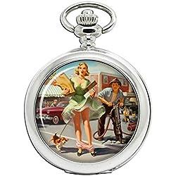 Bolsa de la compra (de Dilemna pin-up Full Hunter reloj de bolsillo
