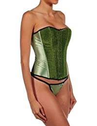 Intimax U08S, Bustier Femme, Vert (Verde), 34 (Taille fabricant: Small)
