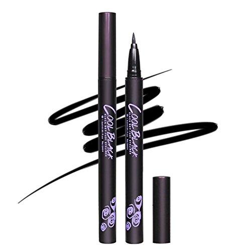 Anwenden Von Eyeliner (KAYI Dry Schnell Einfach anwenden Wasserdichter Anti-Sweat Liquid Eyeliner)