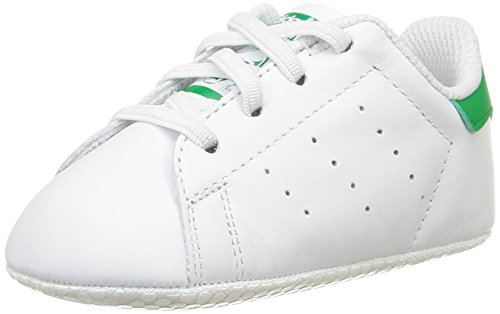 pretty nice 677d8 ede66 adidas Baby Boys  Stan Smith Crib First Walking Shoes, Blanc (Ftwr White