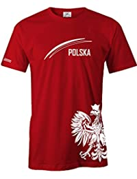 WM 2018 - POLEN - POLSKA ADLER - FAN SHIRT - HERREN - T-SHIRT