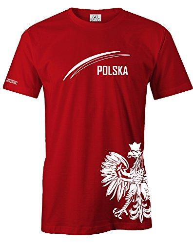 pologne-polska-adler-fan-shirt-t-shirt-homme-by-inscription-taille-s-xxl-rouge-l