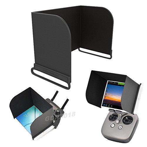 GDD2018 Ipad Tablet Monitor Sun Haube Sonnenschirm für DJI Mavic Pro Phantom 4 Pro Inspire M600 DJI OSMO (L168)
