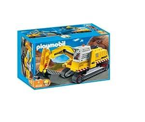 Playmobil 4039 jeu de construction excavateur g ant jeux et - Playmobil geant a vendre ...
