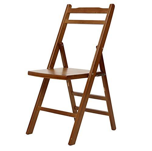 ch-AIR Klappstuhl (38 * 44 * 79cm) tragbar mit Rückenlehne Bambus Outdoor-Freizeit Stuhl kleine...