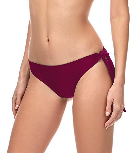 Merry Style Slip Bikini Pezzo sotto Costume MSVR3 (Borgogna (5288), EU 34=IT 40)