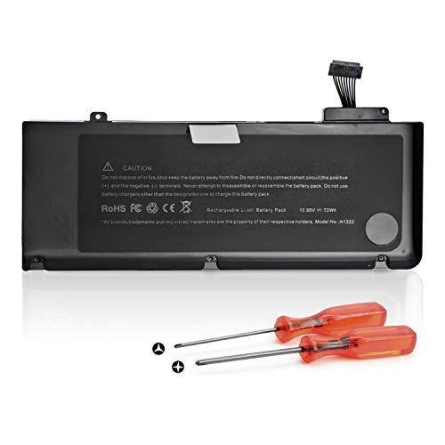 K KYUER High Capacity 72WH A1322 Batería Apple MacBook