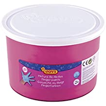 Jovi - Bote con pintura de dedos, 500 ml, color magenta (56108)