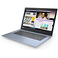 "Lenovo Ideapad 120S-14IAP Ultrabook 14"" Bleu Denim (Intel Celeron, 4 Go de RAM, SSD 64 Go, Windows 10S)"