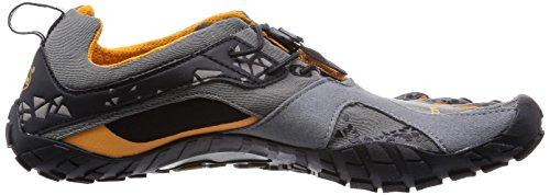 Vibram Five Fingers Spyridon Mr, Chaussures de Trail Homme Multicolore (Grey/orange)