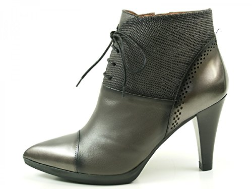 Hispanitas Eiffel HI63525 bottes & bottines femme Ankle Boots Grau